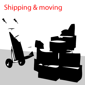 shipping and moving goods to Nairobi